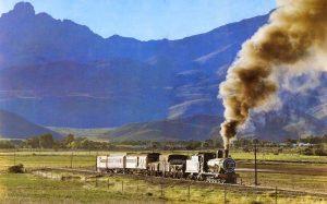 Makadas steam train